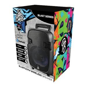 "Pro Bass Blast 8"" series Bluetooth Speaker - Black"