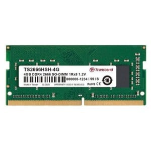 Transcend 4GB DDR4-2666 Notebook So-Dimm 1RX8 CL19