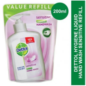 Dettol Hygiene Liquid Hand Wash Sensitive Refill 200ml - 200ml