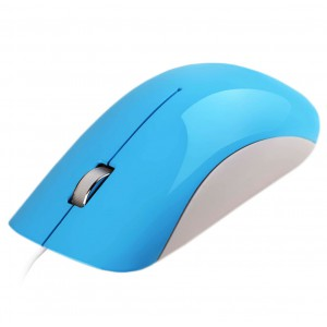 Astrum MU200 Wire Optical USB Mouse - Blue