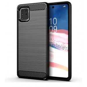 Tuff-Luv Carbon Effect Armour Case for Samsung Galaxy A81/M60S/Note 10 Lite - Black  (5055205287171)