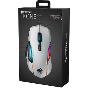Roccat Kone AIMO Gaming Mouse - White (PC)