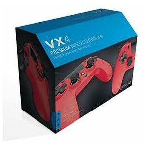 Gioteck - VX-4 Wired Controller - Red (PS4/PC)