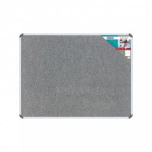 Bulletin Board Ribbed Aluminium Frame (600x450mm - Laurel)