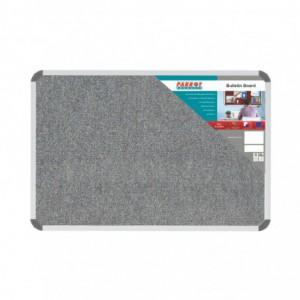 Bulletin Board Ribbed Aluminium Frame (900x600mm - Laurel)