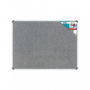 Bulletin Board Ribbed Aluminium Frame (1200x900mm - Laurel)