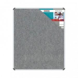 Bulletin Board Ribbed Aluminium Frame (1200x1000mm - Laurel)