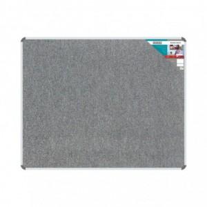 Bulletin Board Ribbed Aluminium Frame (1500x1200mm - Laurel)