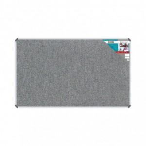 Bulletin Board Ribbed Aluminium Frame (1500x900mm - Laurel)