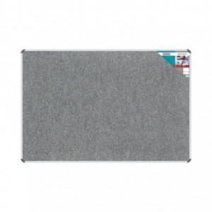 Bulletin Board Ribbed Aluminium Frame (1800x1200mm - Laurel)