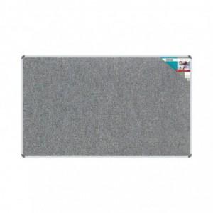 Bulletin Board Ribbed Aluminium Frame (2000x1200mm - Laurel)