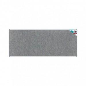 Bulletin Board Ribbed Aluminium Frame (3000x1200mm - Laurel)