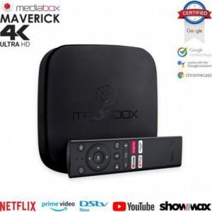 Mediabox Maverick 4K Android Certified TV Box