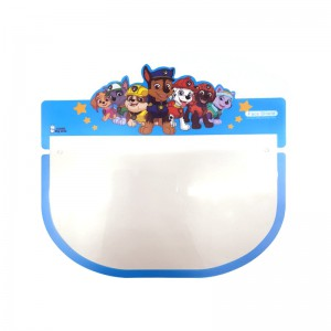 Kids Face Shield with Glasses