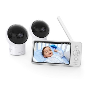 """Eufy Security Video Baby Monitor with Camera 5"""" 720P HD Night Vision"""