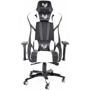 RogueWare Formula Series Black/White Gaming Chair