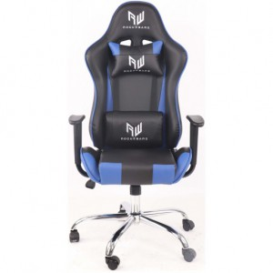 RogueWare Racer Series Black/Blue Gaming Chair