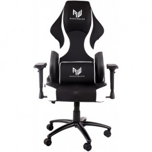 RogueWare Rally Series Black/White Gaming Chair