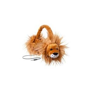 Emerge Retractable Animalz Lion Headphones