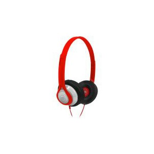 Maxell HP-360 Midsize Legacy Headphone - Red