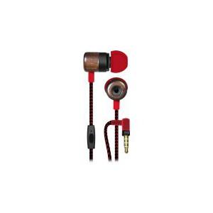Maxell WUD-5 Wood Earphone with Microphone - Rok