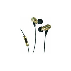 Maxell EB-PRO M2 Dual Driver Earbuds - Gold