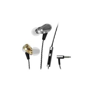 Maxell EB-PRO M2 Dual Drivber Earbuds - Silver