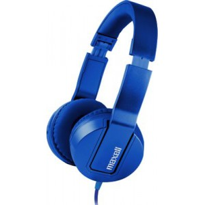Maxell SMS-10 METALZ Headphone Mid Size - Sapphire Blue