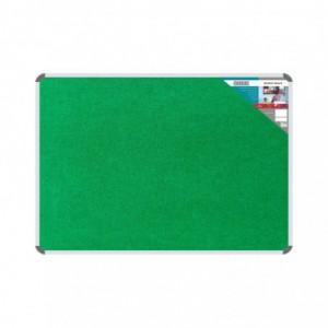 Bulletin Board Ribbed Aluminium Frame (1800x1200mm - Palm)
