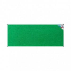 Bulletin Board Ribbed Aluminium Frame (3000x1200mm - Palm)