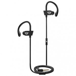 Amplify Sport Challenger series Earhook Earbuds - Black