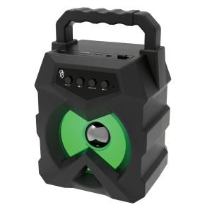 "Pro Bass Tank 3"" series Bluetooth Speaker - Black"