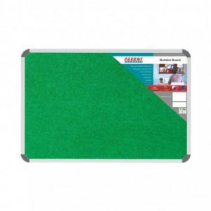 Bulletin Board Ribbed Aluminium Frame (900x600mm - Palm)