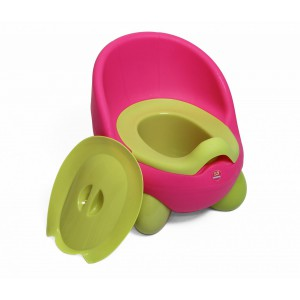 Nuovo Potty - Green/Pink