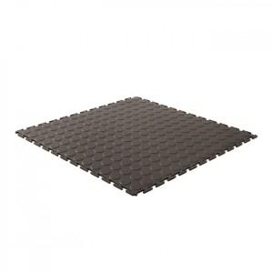 Set of 12 Mats PVC (3 sqm) - Black