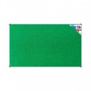 Bulletin Board Ribbed Aluminium Frame (2000x1200mm - Palm)