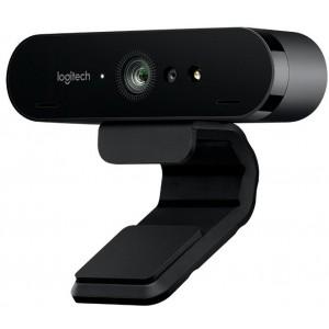 Logitech Brio Stream Webcam, Ultra HD 4K Streaming Edition - Black