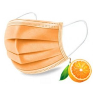 Casey Disposable Face Mask with Earloop 50 Per Pack Orange Scented Non-Woven