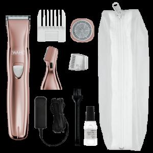 Wahl Rechargeble Rose Gold Ladies Grooming kit