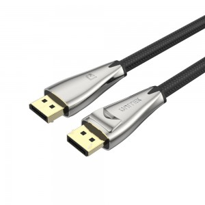 Unitek 2M DisplayPort 1.4 Zinc Alloy Cable