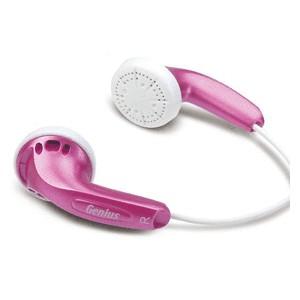 Genius GHP-200V Earphones - Pink