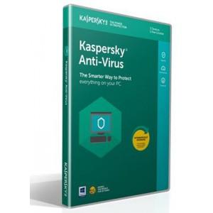 Kaspersky Anti-Virus 2020 3+1 Free Device 1 Year