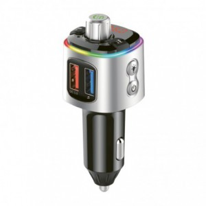 Gizzu Bluetooth Piston Handsfree FM Transmiiter + Dual USB Charger