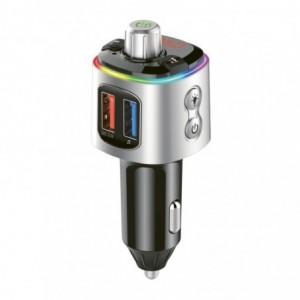 Gizzu Bluetooth Piston Handsfree FM Transmitter + Dual USB Charger