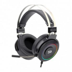 Redragon H320 LAMIA 2 USB 7.1 Surround Sound RGB Gaming Headset – Black