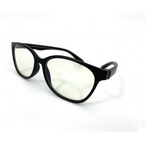 Little Bambino Blue Shield Kids Glasses - Black