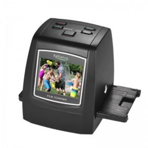 Film Scanner 22MP (Convert 35mm/ 126KPK/ 110/ Super 8 Films, slides, negatives into digital format)
