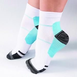Remedy Blue Planter Fasciitis Compression Socks - L/XL