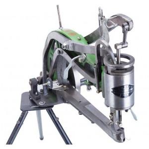 Hand machine leather sewing machine patcher