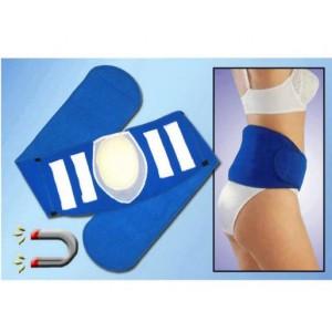 Neoprene Cushioned Back Support Belt - Blue